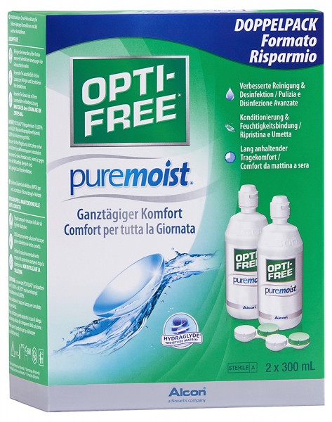 OptiFree Puremoist 2x300ml