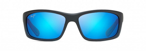 Kanaio Coast - matt transparent blue-black - 766B-08C