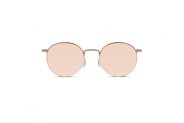 sonnenbrille-komono-the-taylor-rose-gold-mirror-frontansicht
