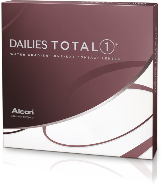 Alcon Dailies Total One 90er-Pack Ein-Tages-Kontaktlinsen