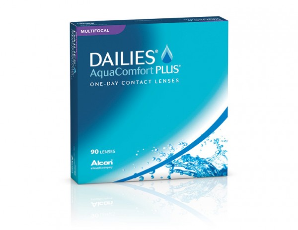 Alcon Dailies Aqua Comfort Plus Multifocal 90er-Pack Ein-Tages-Kontaktlinsen