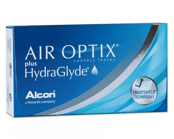 Alcon Air Optix plus Hydra Glyde Monatskontaktlisen